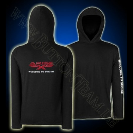 Arise-X Long Hooded T