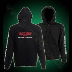 Arise-X  Zip Hooded Sweat