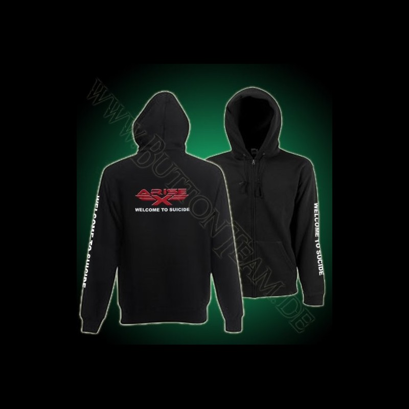 Arise-X  Zip Hooded Sweat