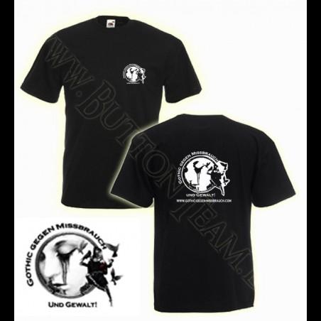 T-Shirt Gothic gegen Missbrauch