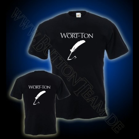 T-Shirt Wort-Ton