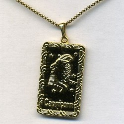 Halskette Steinbock