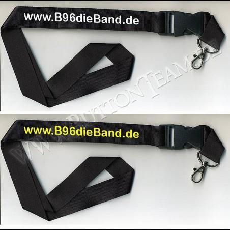 Lanyard B96 - Bandschlüsselband