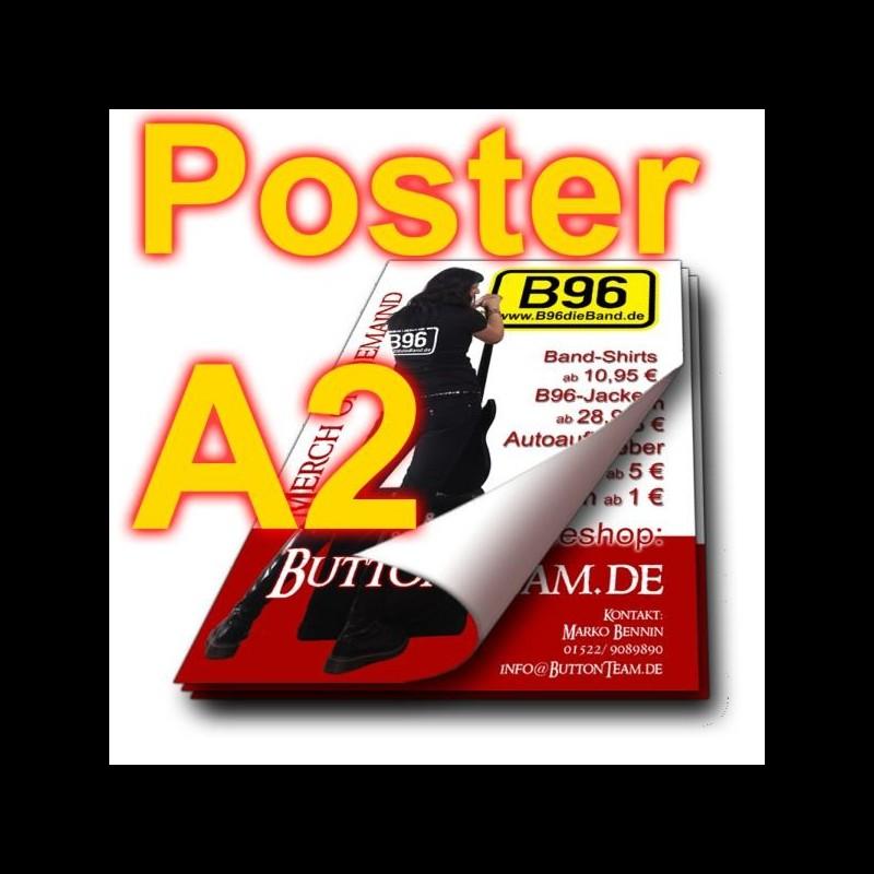 Poster A2, glänzend, 135 g/qm