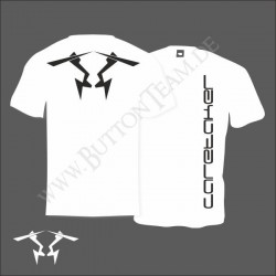 "T-Shirt ""Caretaker"" weiß"