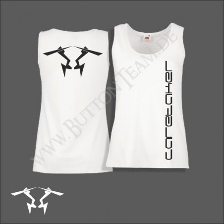 "White Lady-Top Vest  ""Caretaker"""