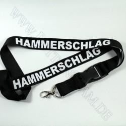 """Lanyard  """"HAMMERSCHLAG"""""""
