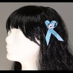 Haarspange Blue Soul