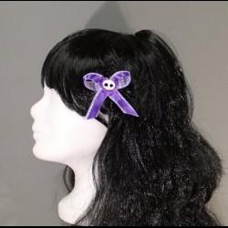 Lilla Flower Haarspange