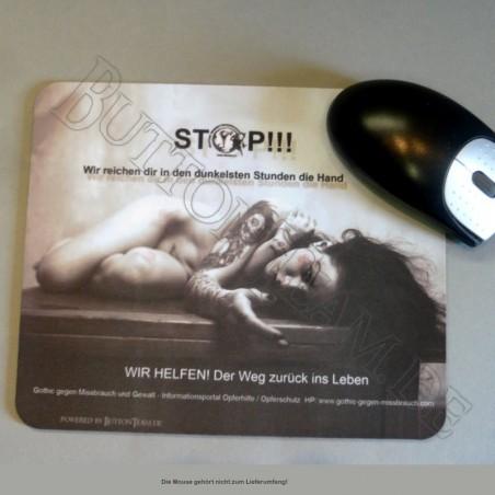Mousepad - Gothic gegen Missbrauch