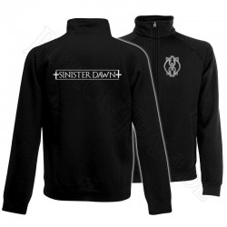 Sweat Jacke  Sinister Dawn