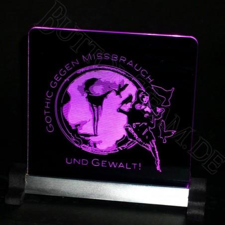 LED Acryl Lichtdeko