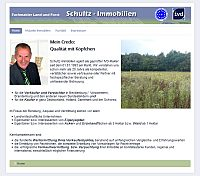 Homepage Schultz Immobilien Webdesing by ButtonTeam