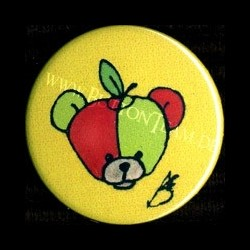 AKS Button Apfel-Bär