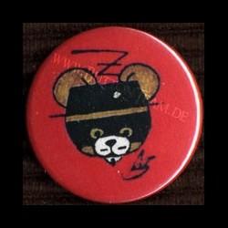 AKS Button Zorro-Bär