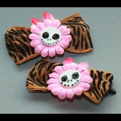 Leo-Pink-Blumen, 2er Set