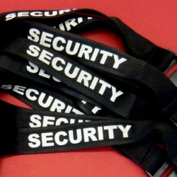 """Lanyard """"SECURITY"""""""