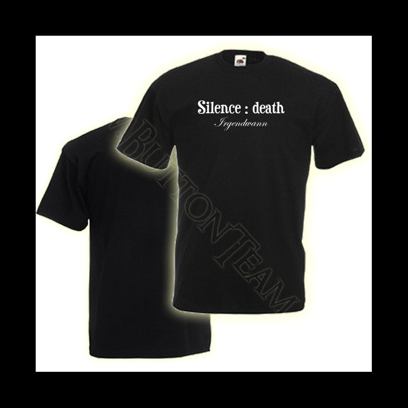 Lady-Shirt Silence:death