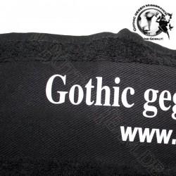 Badetuch Gothic gegen Missbrauch