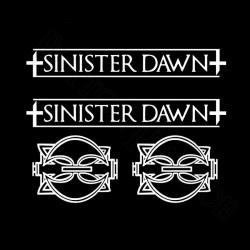Aufkleberset Sinister Dawn