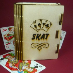 Kartenbox Skat