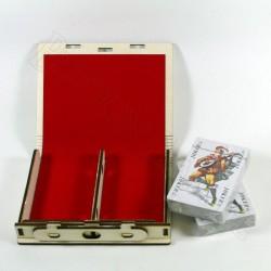 Kartenbox Romme
