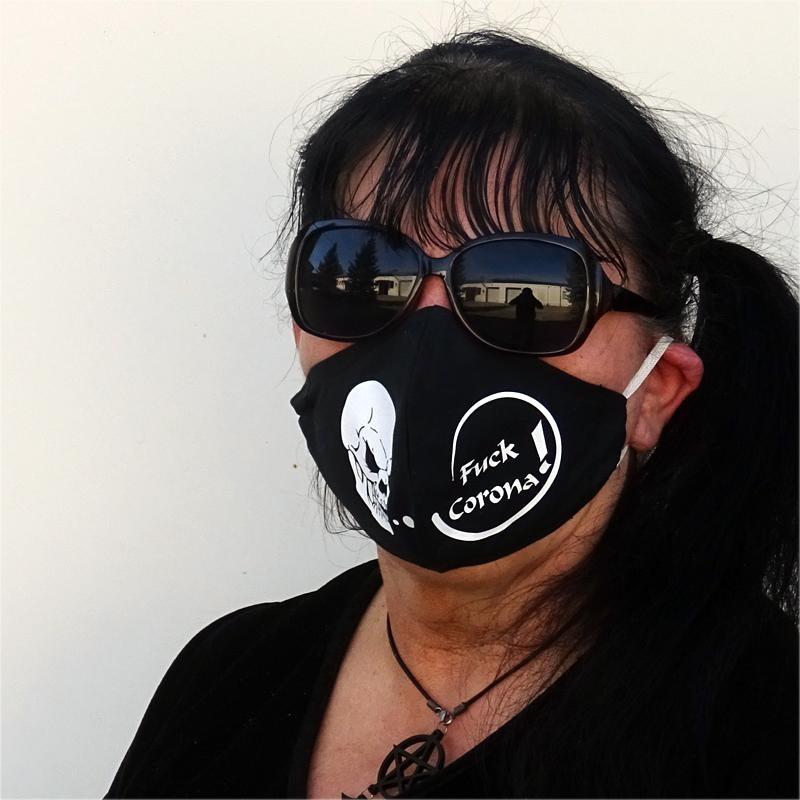Fuck Corona Maske
