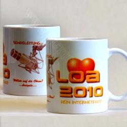 Tasse zum Sender Loa2010