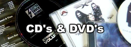 Band CD's und DVD's